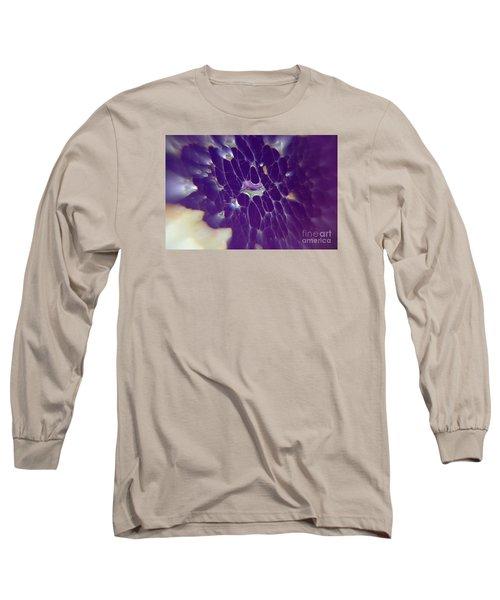 Nature Abstract Long Sleeve T-Shirt by Yumi Johnson