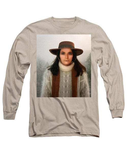 Long Sleeve T-Shirt featuring the photograph Nature Harmony Self Portrait  by Colette V Hera Guggenheim