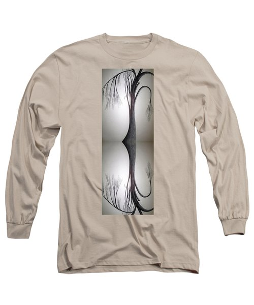 Nature...mirror Of The Soul Long Sleeve T-Shirt