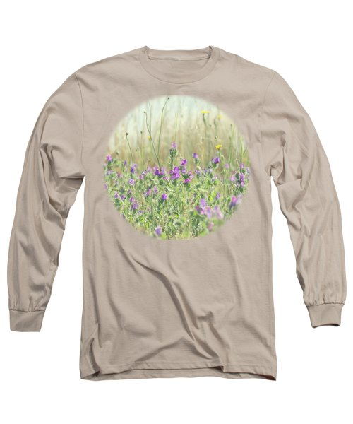 Nature's Graffiti Long Sleeve T-Shirt by Linda Lees