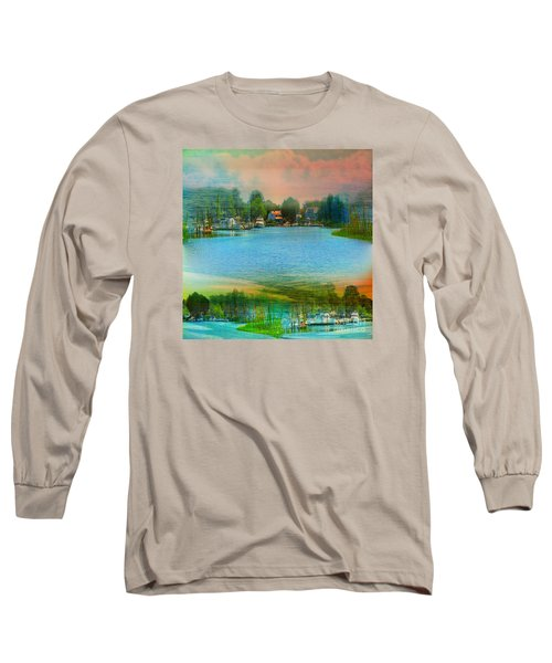 Nature's Magical Sunsets Long Sleeve T-Shirt by Judy Palkimas