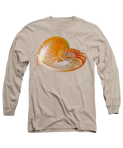 Nautilus Golden Glow Long Sleeve T-Shirt
