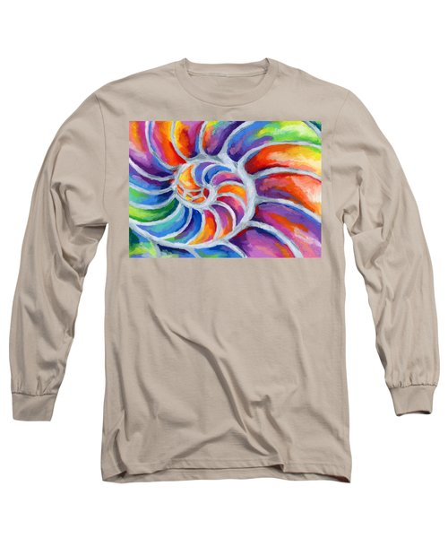 Nautilus Long Sleeve T-Shirt by Stephen Anderson