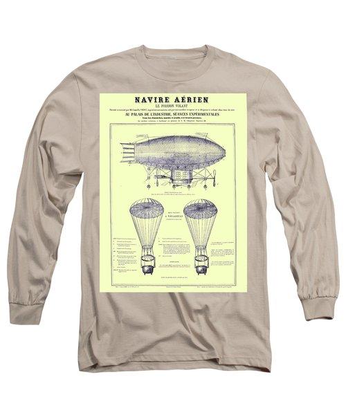 Navire Aerien Long Sleeve T-Shirt
