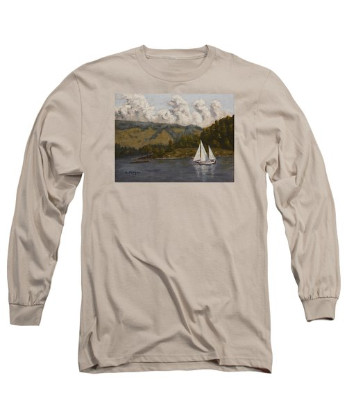 Nearing The Point Long Sleeve T-Shirt by Alan Mager