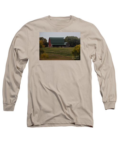 Nebraska Barn Long Sleeve T-Shirt