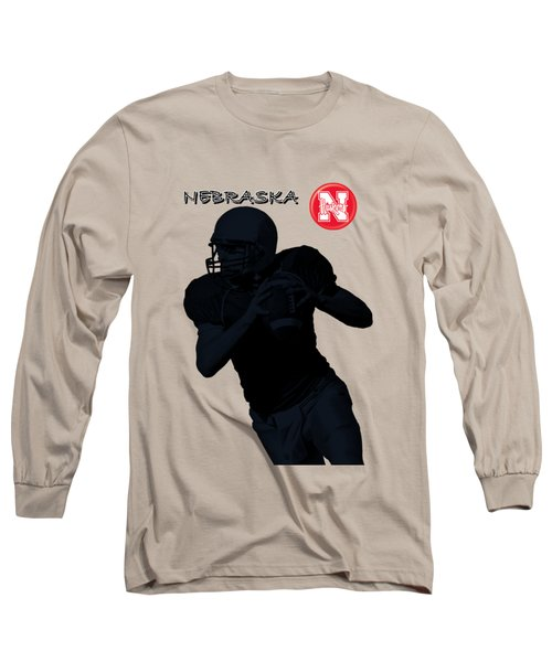 Nebraska Football Long Sleeve T-Shirt