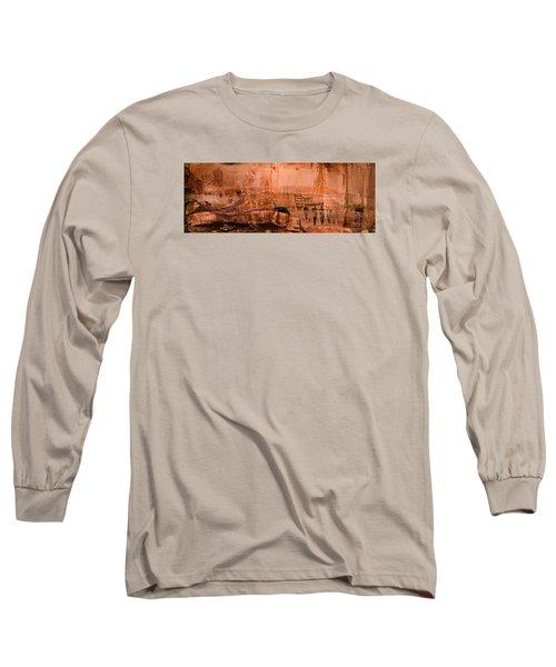 Needles Pictographs Long Sleeve T-Shirt