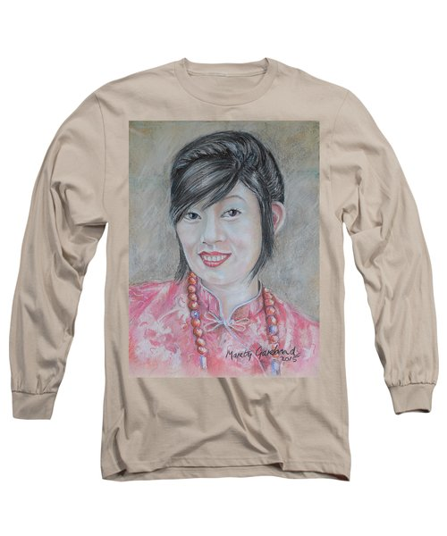 Nepal Girl 1 Long Sleeve T-Shirt