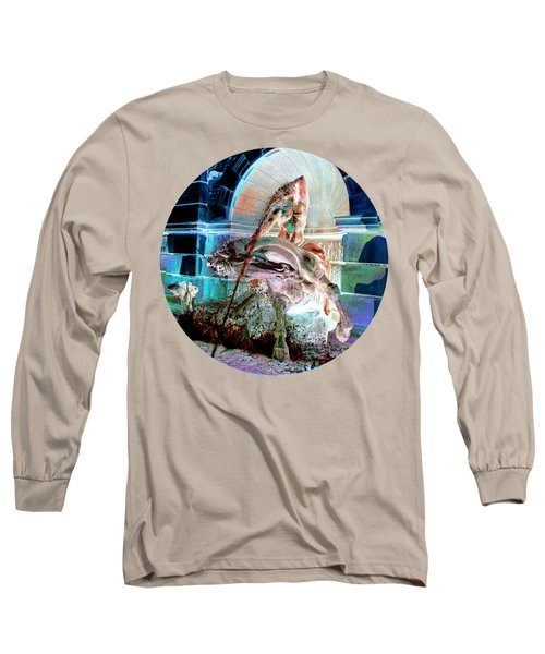 Neptune Nymph 3 Long Sleeve T-Shirt by Robert G Kernodle