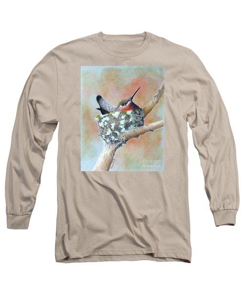Nesting Anna Long Sleeve T-Shirt by Phyllis Howard
