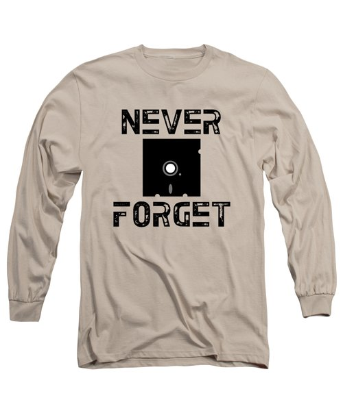 Never Forget Long Sleeve T-Shirt by Mariel Constantino