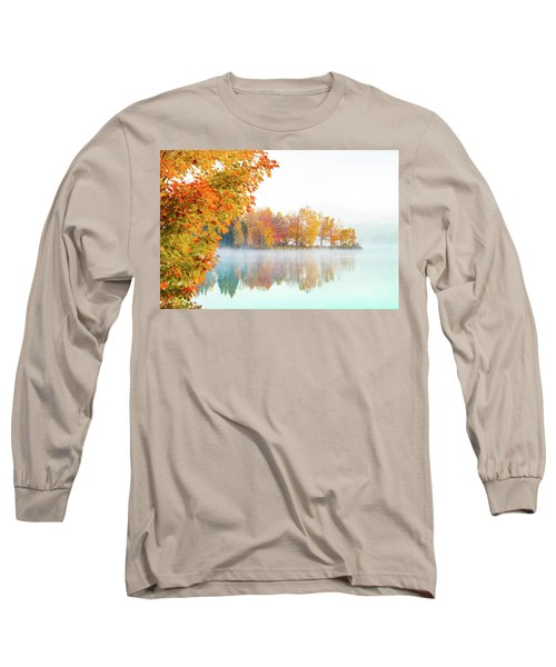 New England Fall Colors Of Maine Long Sleeve T-Shirt