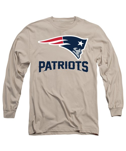 New England Patriots Translucent Steel Long Sleeve T-Shirt