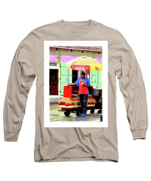New Orleans Hotdog Vendor Long Sleeve T-Shirt