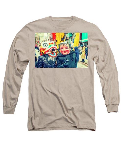 New York Chinatown Long Sleeve T-Shirt
