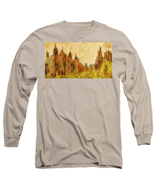 New York City In The Fall Long Sleeve T-Shirt