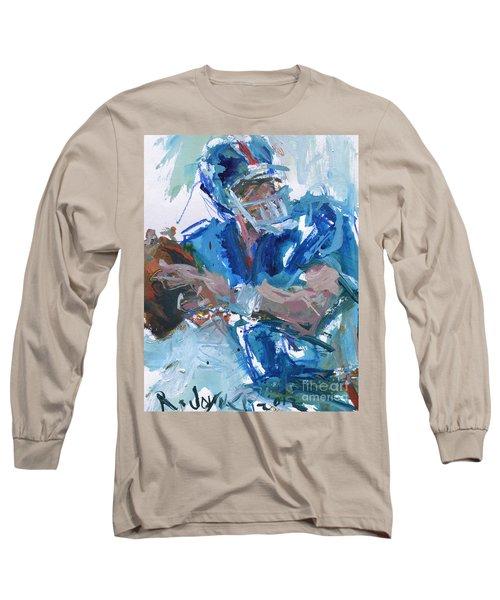 New York Giants Artwork Long Sleeve T-Shirt by Robert Joyner