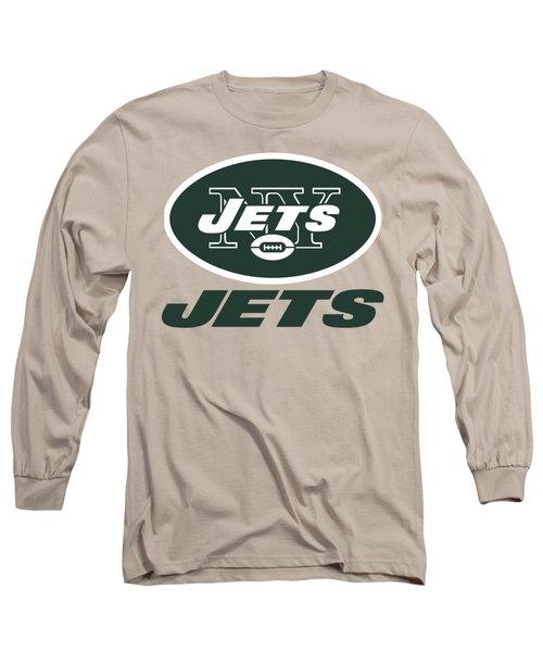 New York Jets Translucent Steel Long Sleeve T-Shirt