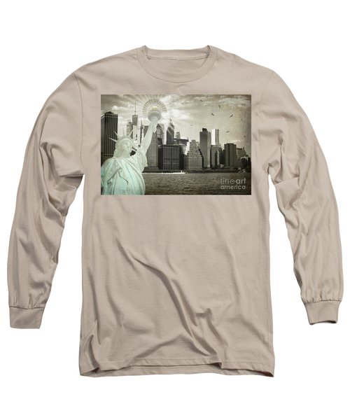 New York New York Da Long Sleeve T-Shirt