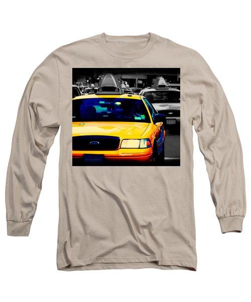 New York Taxi Long Sleeve T-Shirt