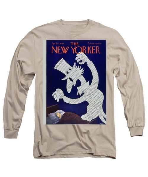 New Yorker April 11 1959 Long Sleeve T-Shirt