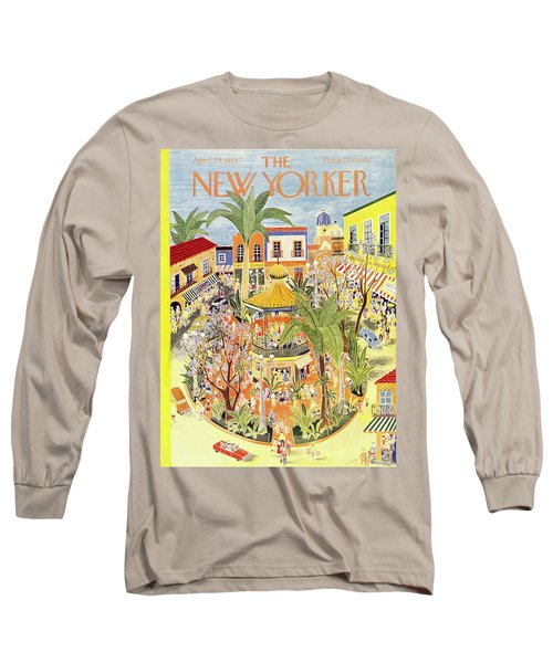 New Yorker April 25 1953 Long Sleeve T-Shirt