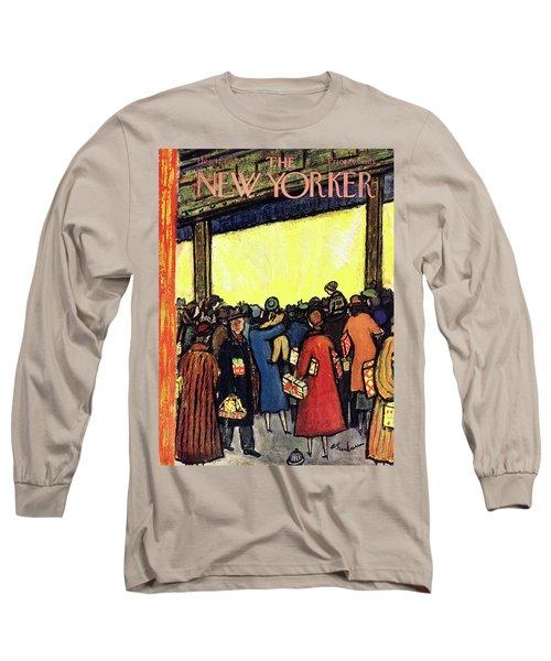 New Yorker December 12 1953 Long Sleeve T-Shirt