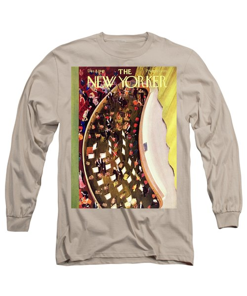 New Yorker December 3 1949 Long Sleeve T-Shirt