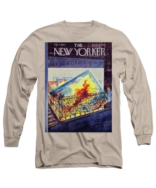 New Yorker February 03 1962 Long Sleeve T-Shirt