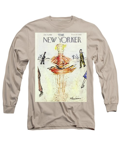 New Yorker January 30 1954 Long Sleeve T-Shirt