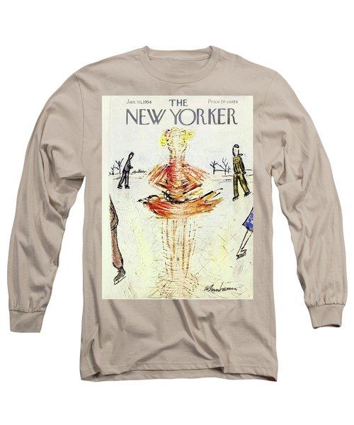 New Yorker January 30 1954 Long Sleeve T-Shirt
