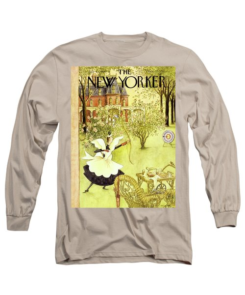 New Yorker July 15 1950 Long Sleeve T-Shirt