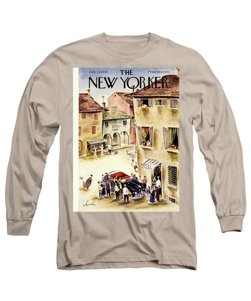 New Yorker July 23 1949 Long Sleeve T-Shirt
