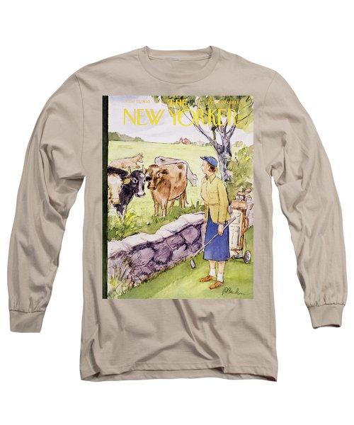 New Yorker June 11 1955 Long Sleeve T-Shirt