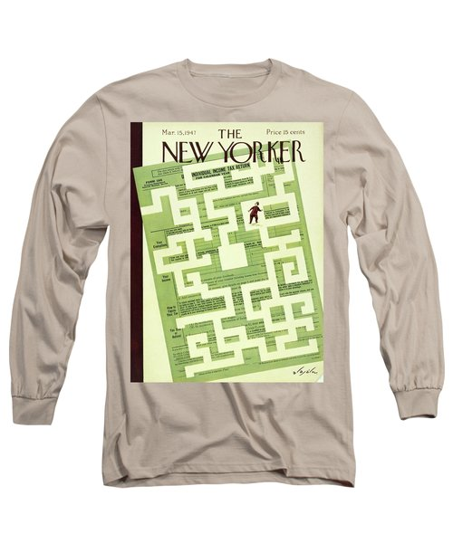 New Yorker March 15 1947 Long Sleeve T-Shirt