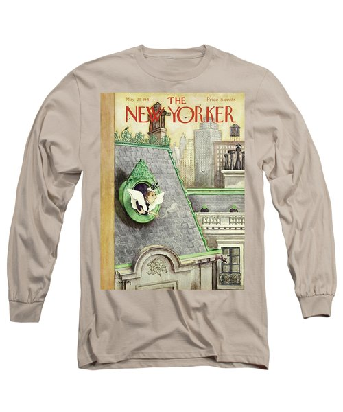New Yorker May 24 1941 Long Sleeve T-Shirt