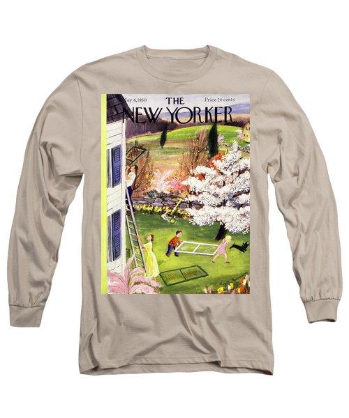 New Yorker May 6 1950 Long Sleeve T-Shirt