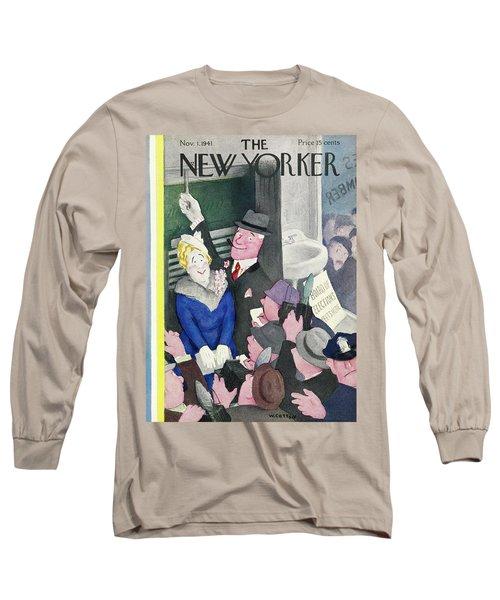 New Yorker November 1 1941 Long Sleeve T-Shirt