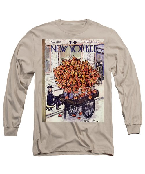 New Yorker November 8 1958 Long Sleeve T-Shirt
