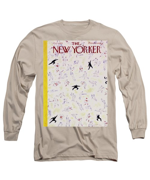 New Yorker October 1 1955 Long Sleeve T-Shirt