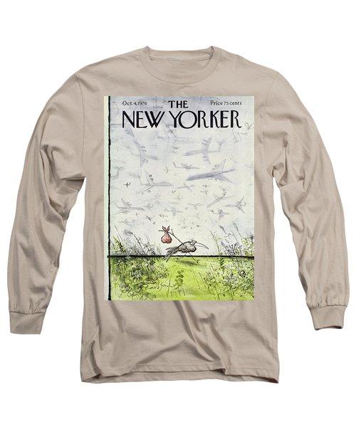 New Yorker October 4 1976 Long Sleeve T-Shirt