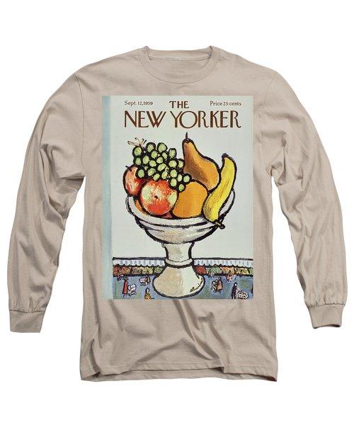 New Yorker September 12 1959 Long Sleeve T-Shirt