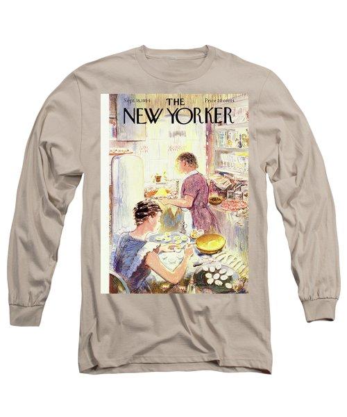 New Yorker September 18 1954 Long Sleeve T-Shirt