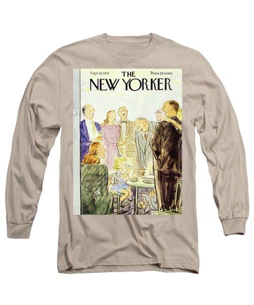 New Yorker September 19 1953 Long Sleeve T-Shirt