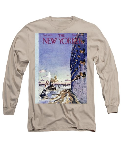 New Yorker September 8 1945 Long Sleeve T-Shirt