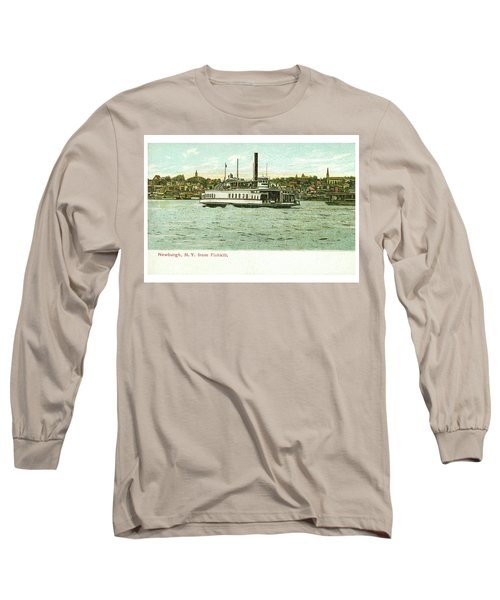 Newburgh Steamers Ferrys And River - 24 Long Sleeve T-Shirt