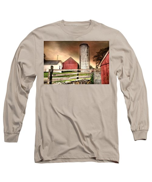 The Newtown Silo Long Sleeve T-Shirt