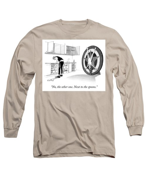 Next To The Spoons Long Sleeve T-Shirt
