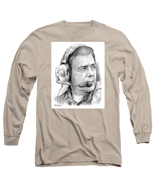 Nick Saban Long Sleeve T-Shirt